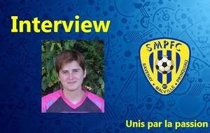 Isabelle interviewée par notre Directeur Sportif Christophe COURSIMAULT