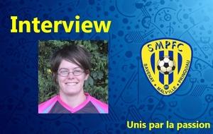 Sarah interviewé par Christophe